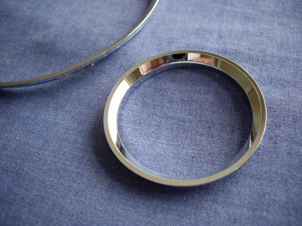 Хромированные кольца своими руками